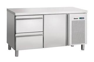 Bartscher 110802 koelwerkbank 1 deur-2 laden
