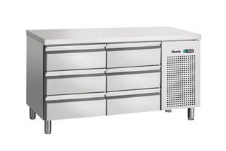 Bartscher 110804 koelwerkbank 6 laden