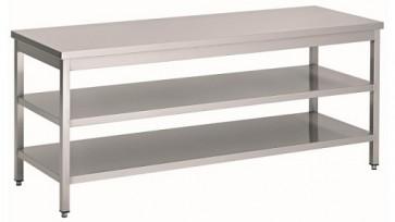 Werktafel 2 schappen 1600x700x900 maatwerk