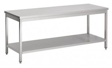 Werktafel 1600x600x850 demontabel