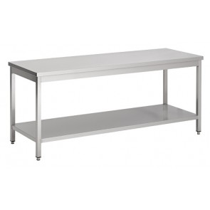 Werktafel 1400x700x600mm laag model