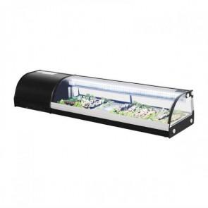 Polar DA538 Slimline sushi vitrine